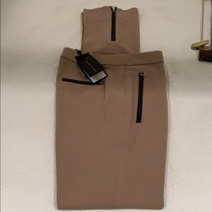 NWT RALPH LAUREN BLACK LABEL TAN SLACKS SIZE 2
